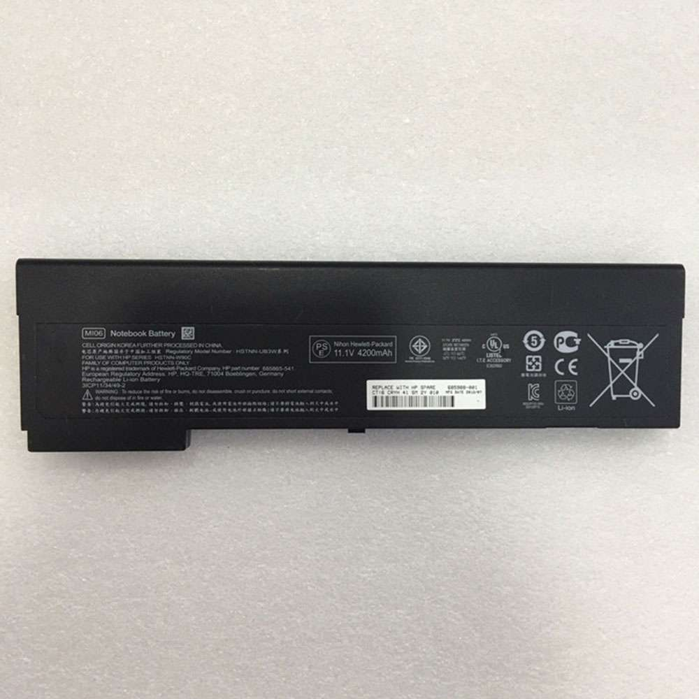 Replacement for HP MIO6 battery