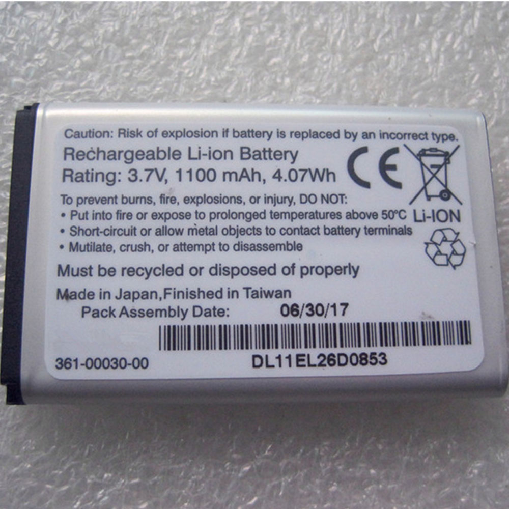 Replacement for Garmin 361-00030-00 battery