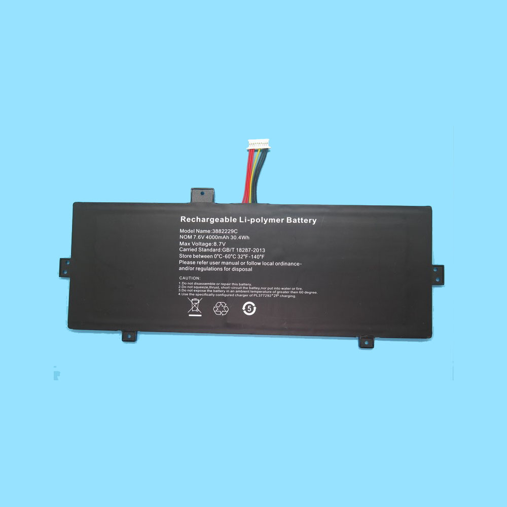 RTDpart 3882229C battery
