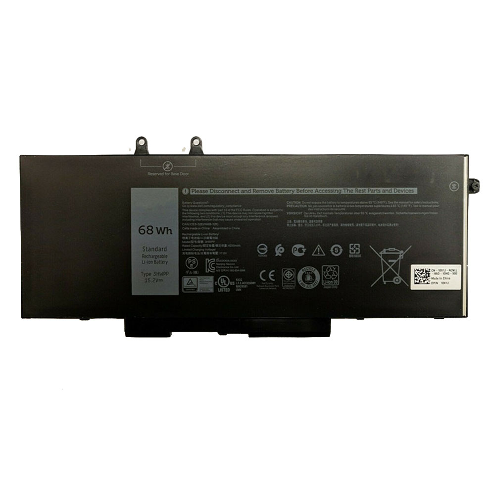 Dell 3HWPP replacement battery
