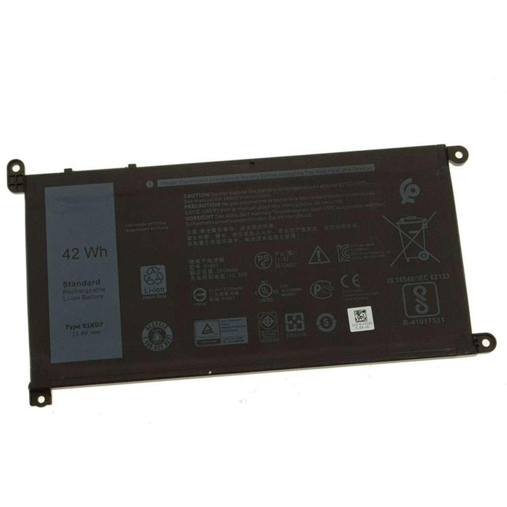 Dell 51KD7 Laptop Akku