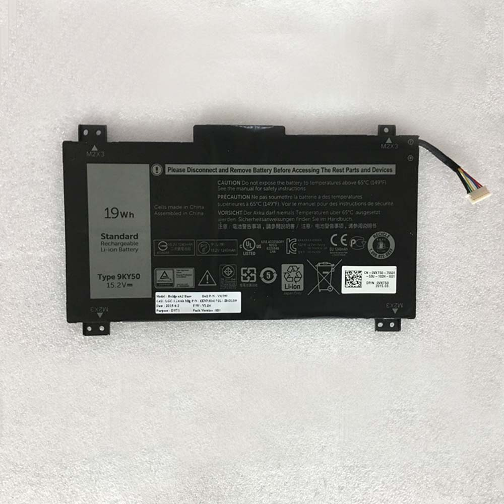 Dell 9KY50 battery