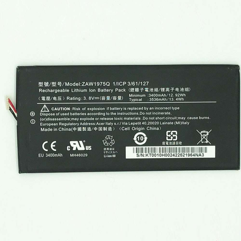 Acer A1-713 A1-713HD Iconia Tab7 LZ Battery