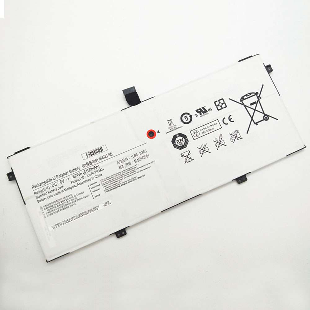 Replacement for Samsung AA-PLVN2AN battery