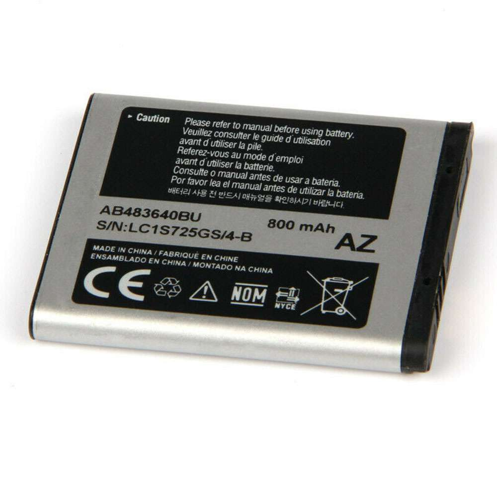 Replacement for Samsung AB483640BU battery