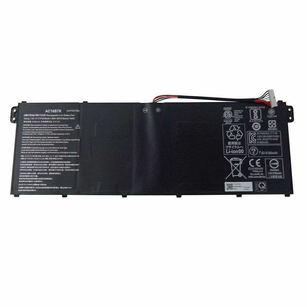 Acer AC16B8K replacement battery