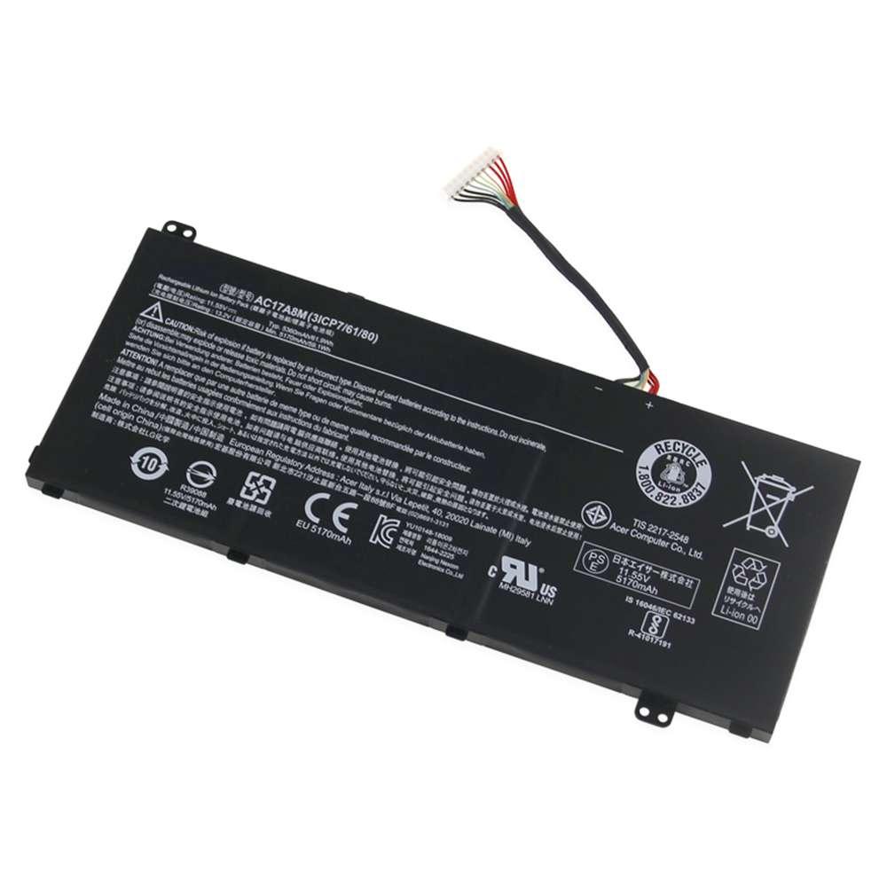 Acer AC17A8M Tablet Akku