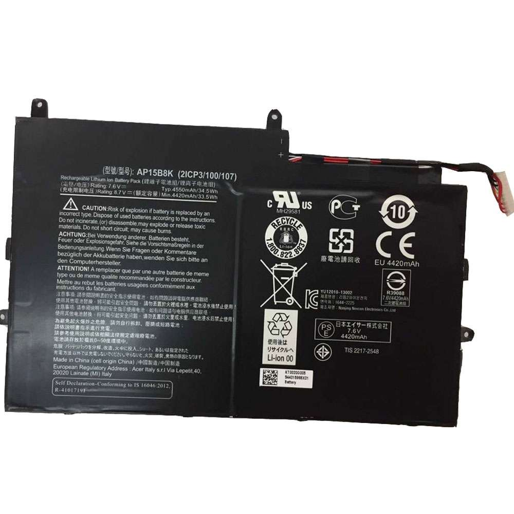 Acer Aspire Switch 11 SW5-173 SW5-173P series Battery