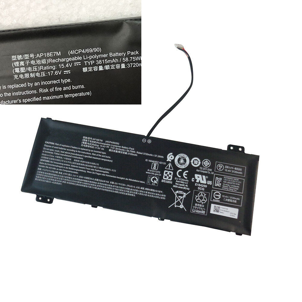 Acer AP18E7M replacement battery