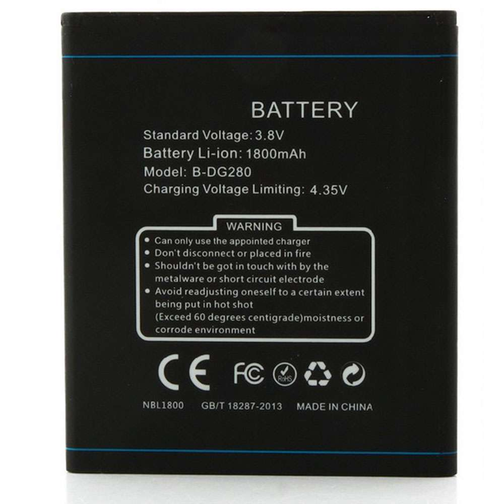 Doogee B-DG280 smartphone-battery