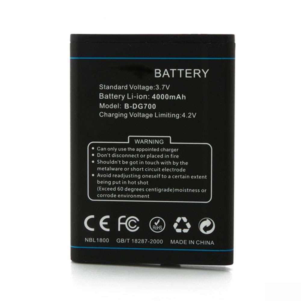 Doogee B-DG700 smartphone-battery