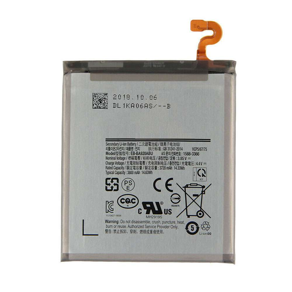 Replacement for Samsung EB-BA920ABU battery