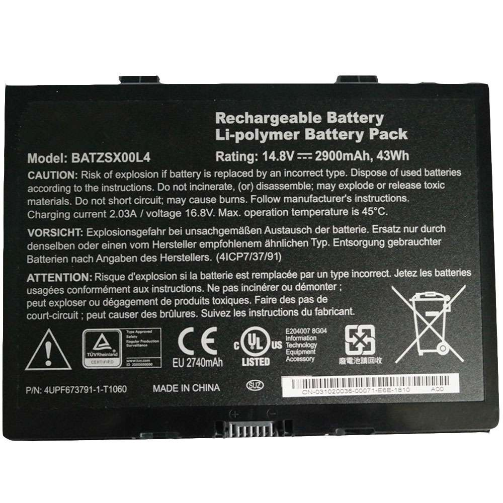 Motion BATZSX00L4 battery