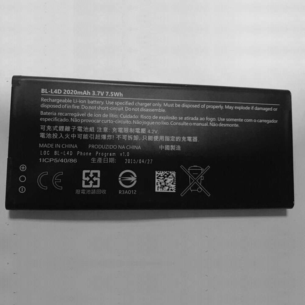 Microsoft BL-L4D replacement battery
