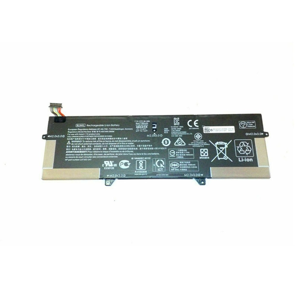 Replacement for HP BL04XL battery