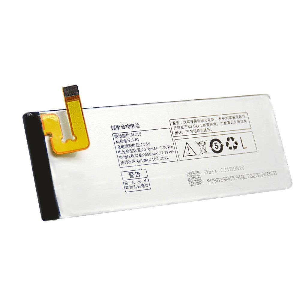 Replacement for Lenovo BL215 battery