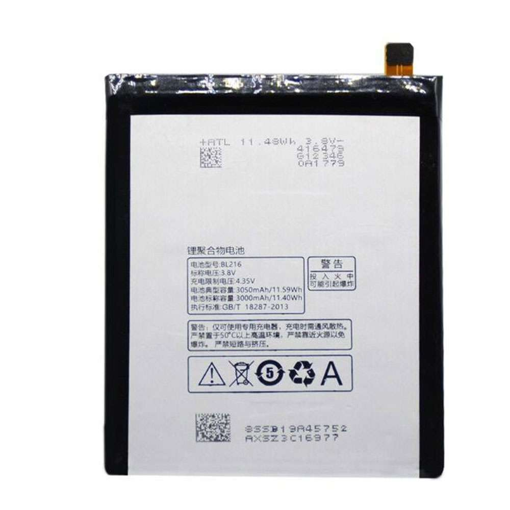 Replacement for Lenovo BL216 battery