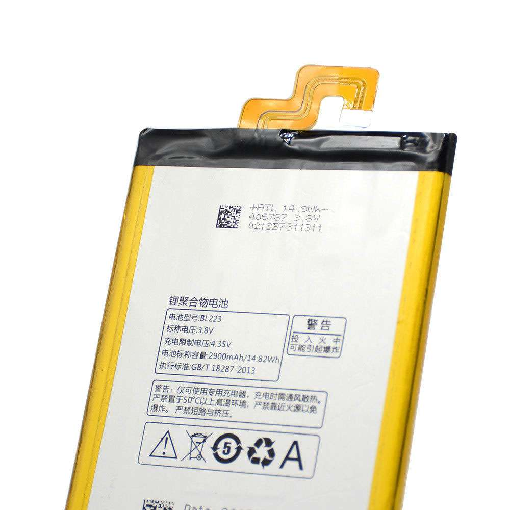Replacement for Lenovo BL223 battery