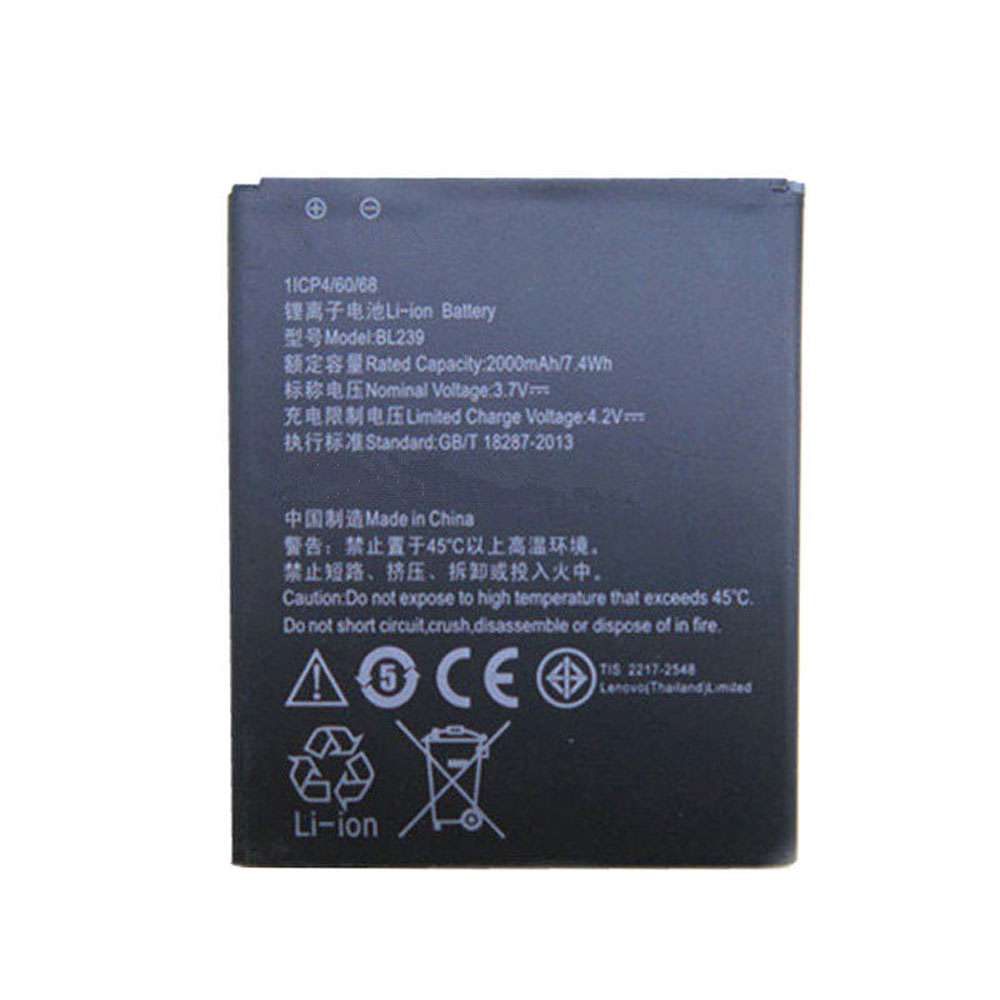 Replacement for Lenovo BL239 battery