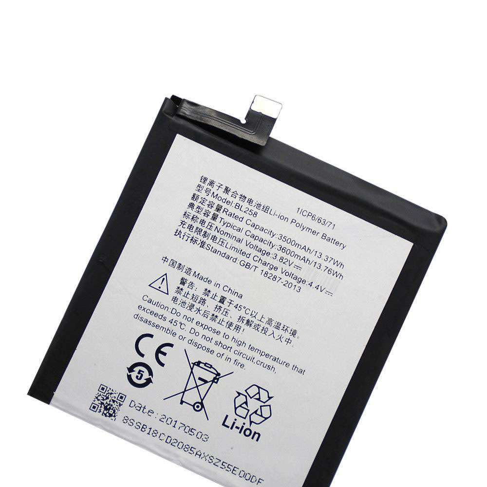 Replacement for Lenovo BL258 battery