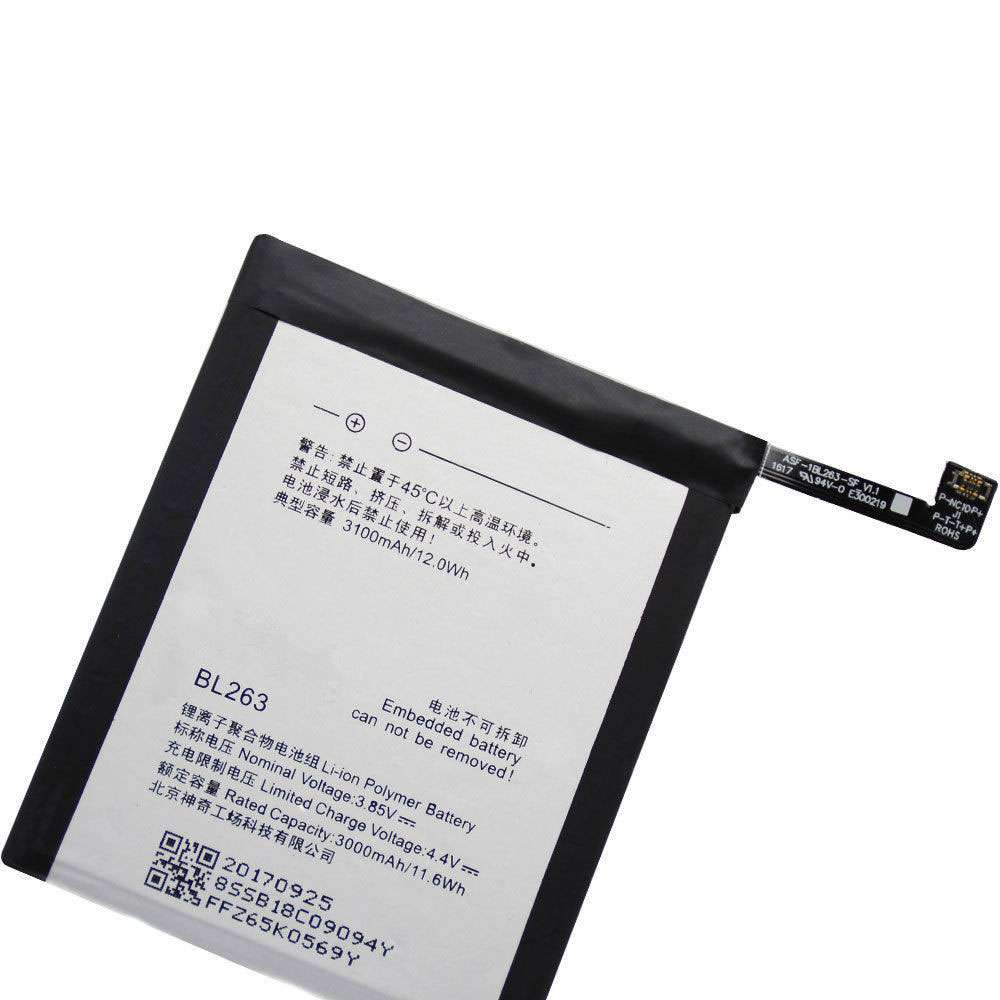 Replacement for Lenovo BL263 battery