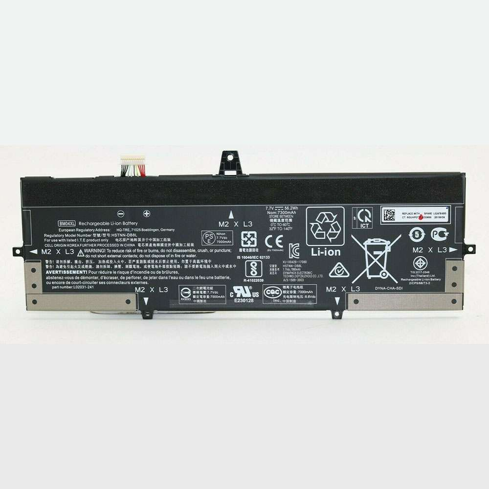 Replacement for HP BM04XL battery