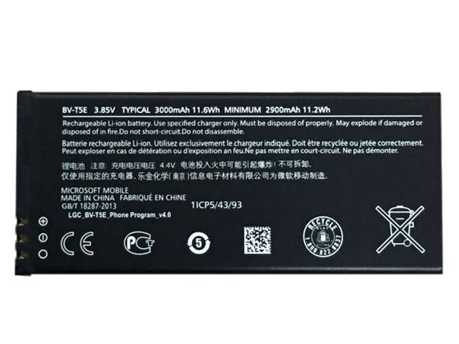 Microsoft BV-T5E replacement battery