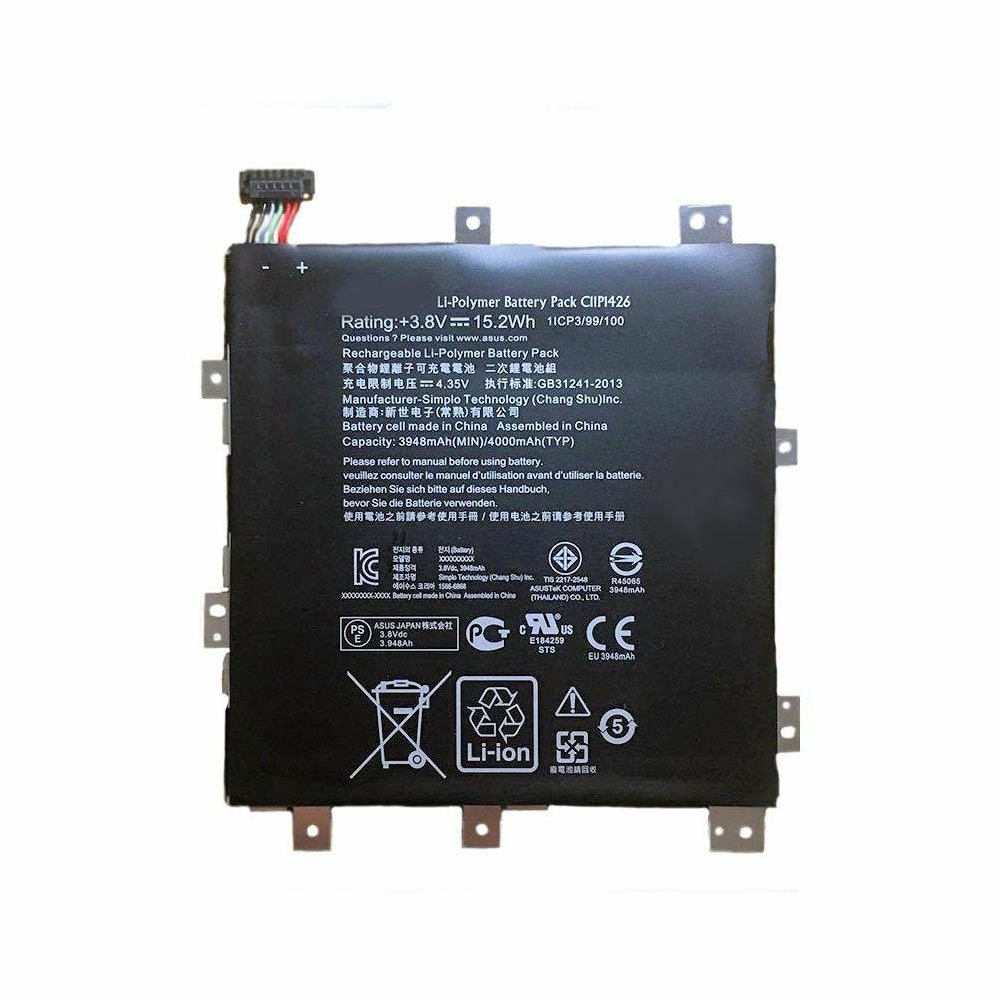Asus C11P1426 replacement battery