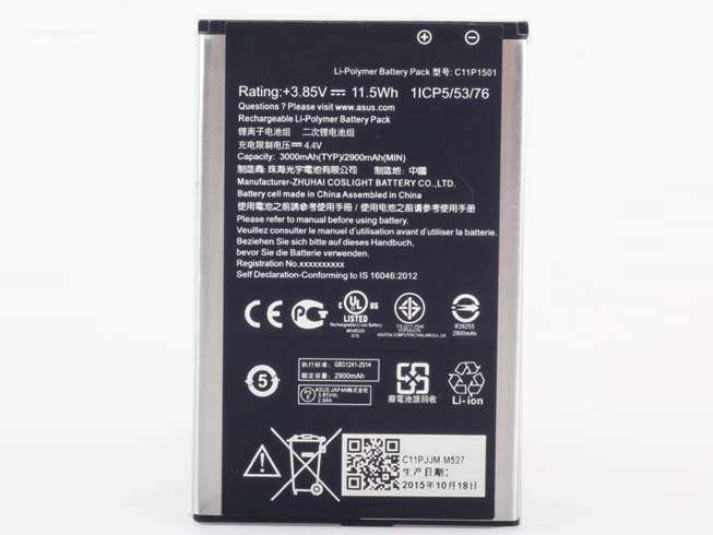 Asus C11P1501 Smartphone Akku