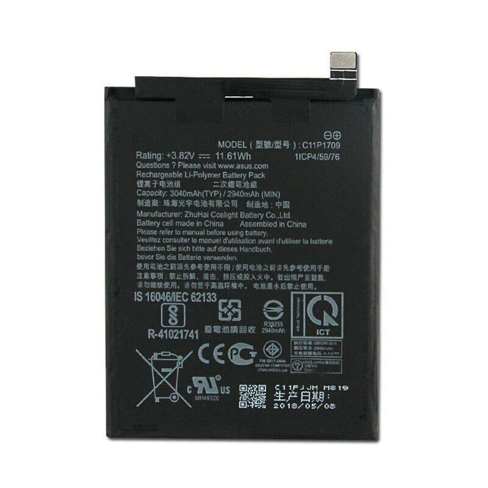 Asus C11P1709 replacement battery