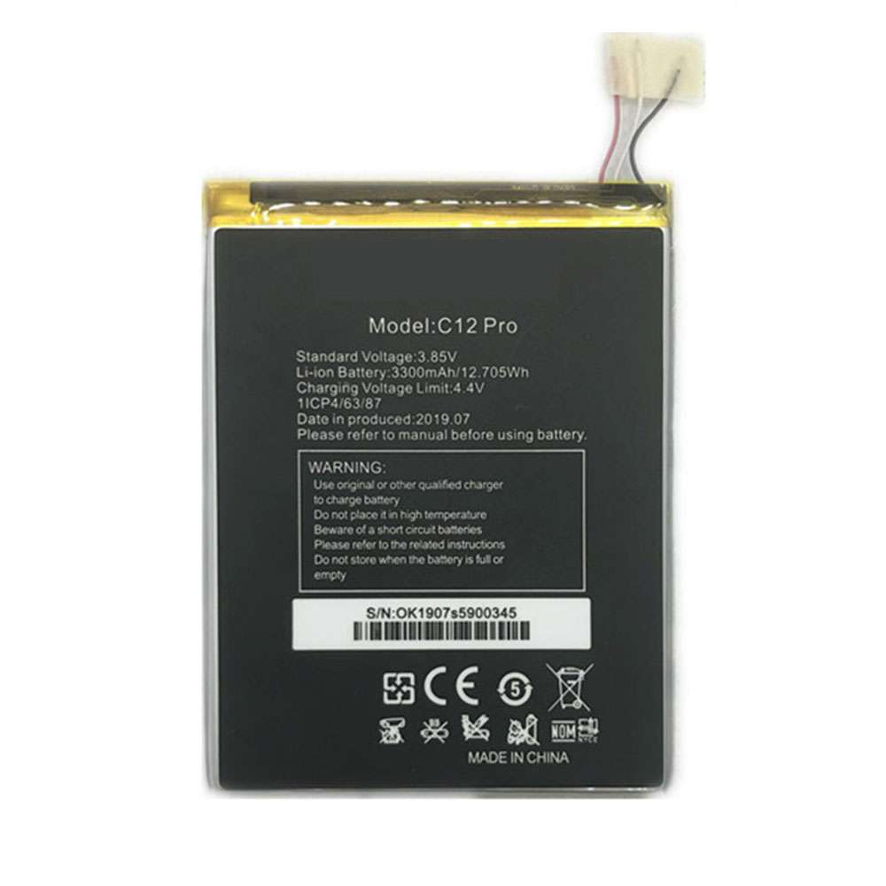 OUKITEL C12_PRO replacement battery