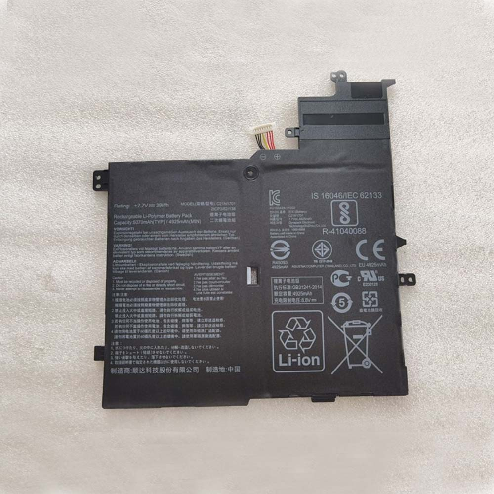 Asus C21N1701 Laptop Akku