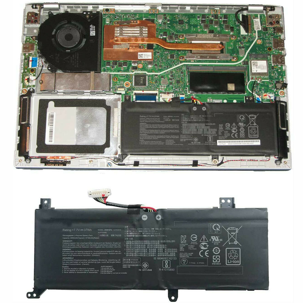 Asus C21N1818 Laptop Akku