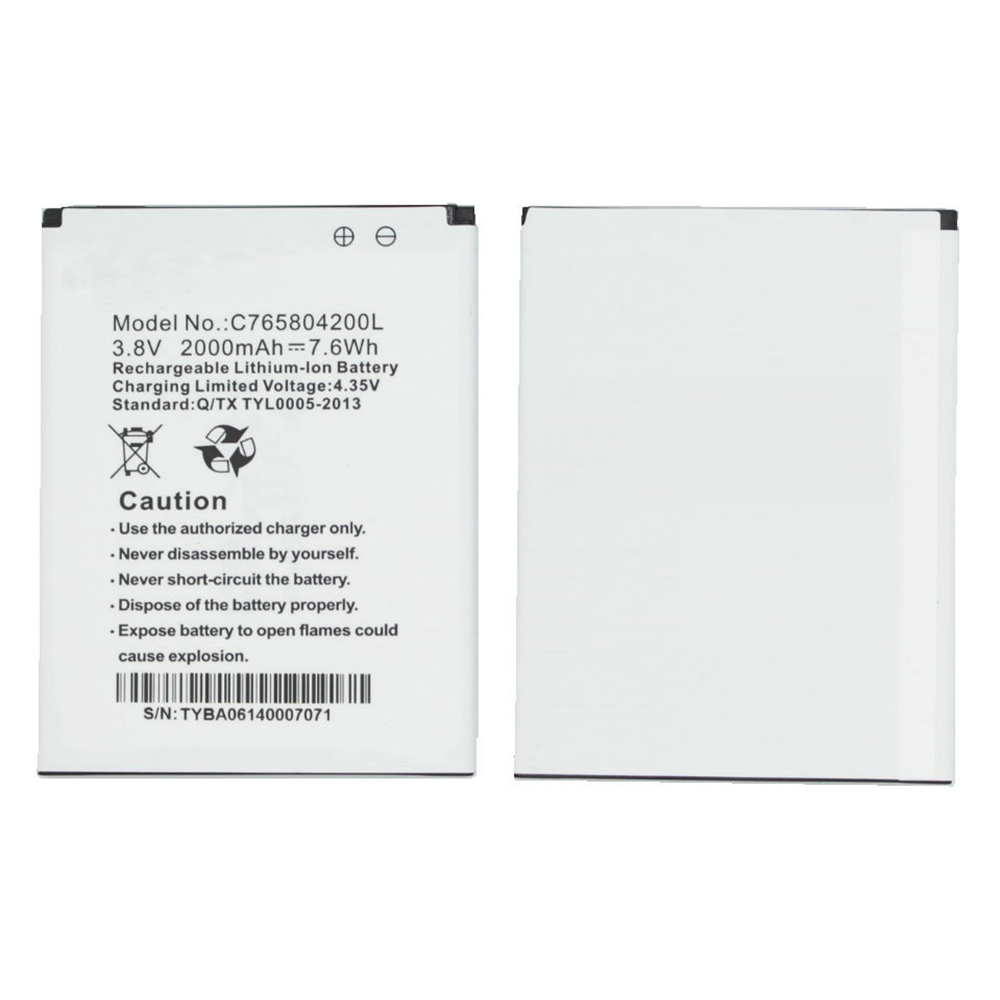 BLU C765804200L replacement battery