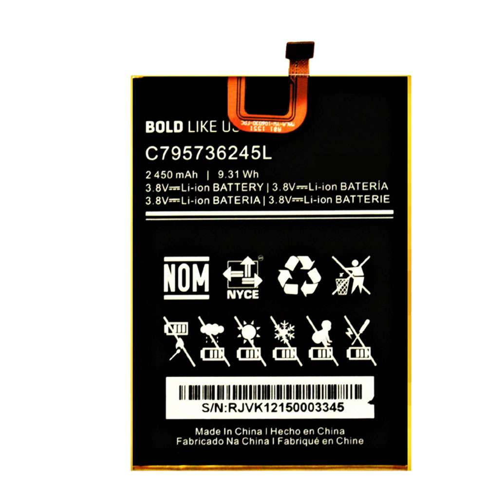 BLU C795736245L replacement battery