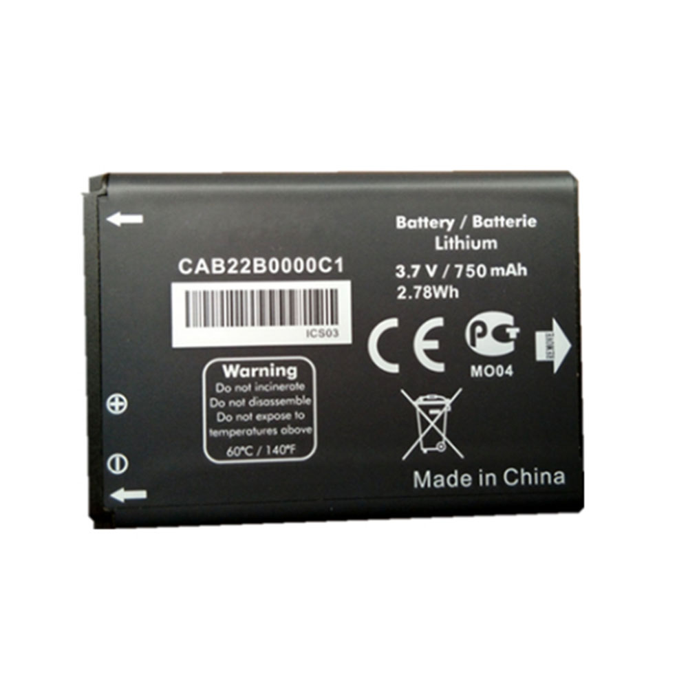 Replacement for Alcatel CAB22B0000C1 battery