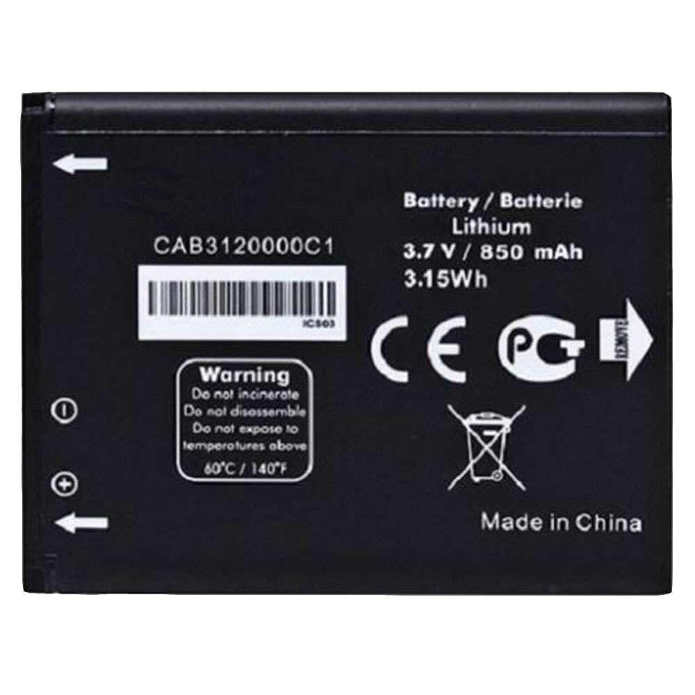 Alcatel  510A OT-800 OT-880a OT-710D 768T Battery