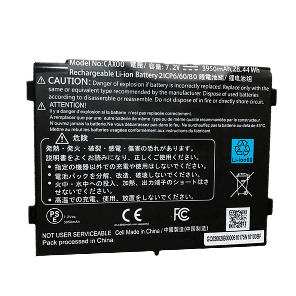 Getac CAX00 replacement battery