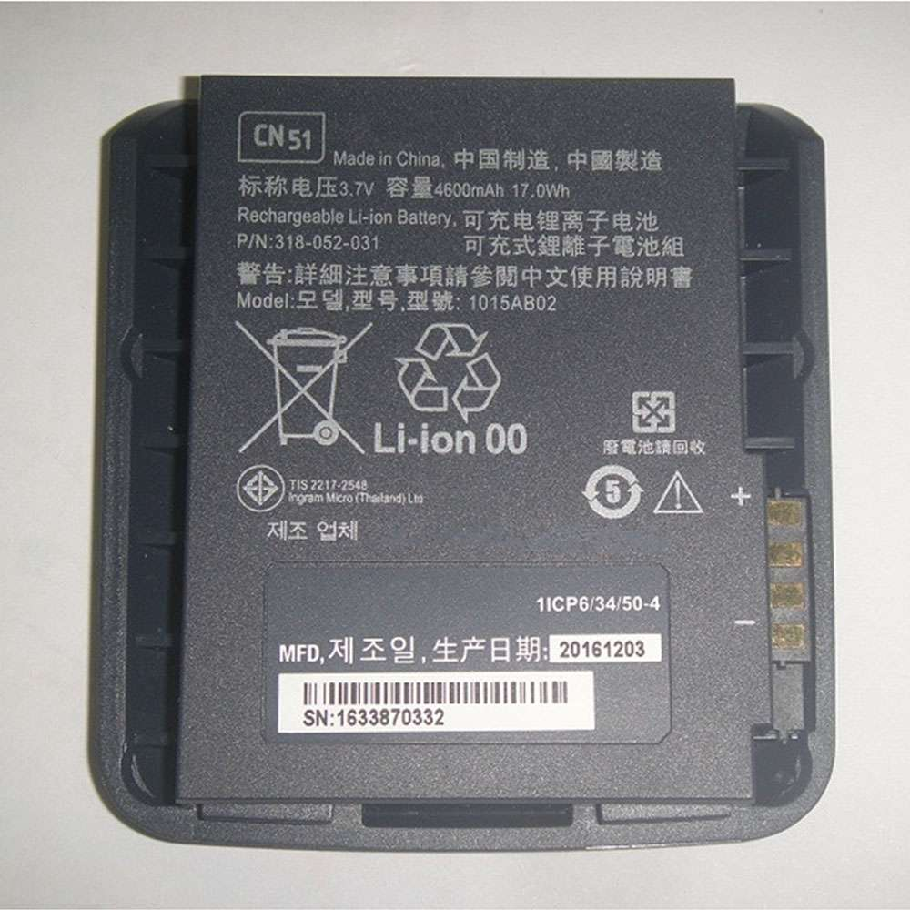 Honeywell Intermec CN50 1015AB02 318-052-031 318-039-001