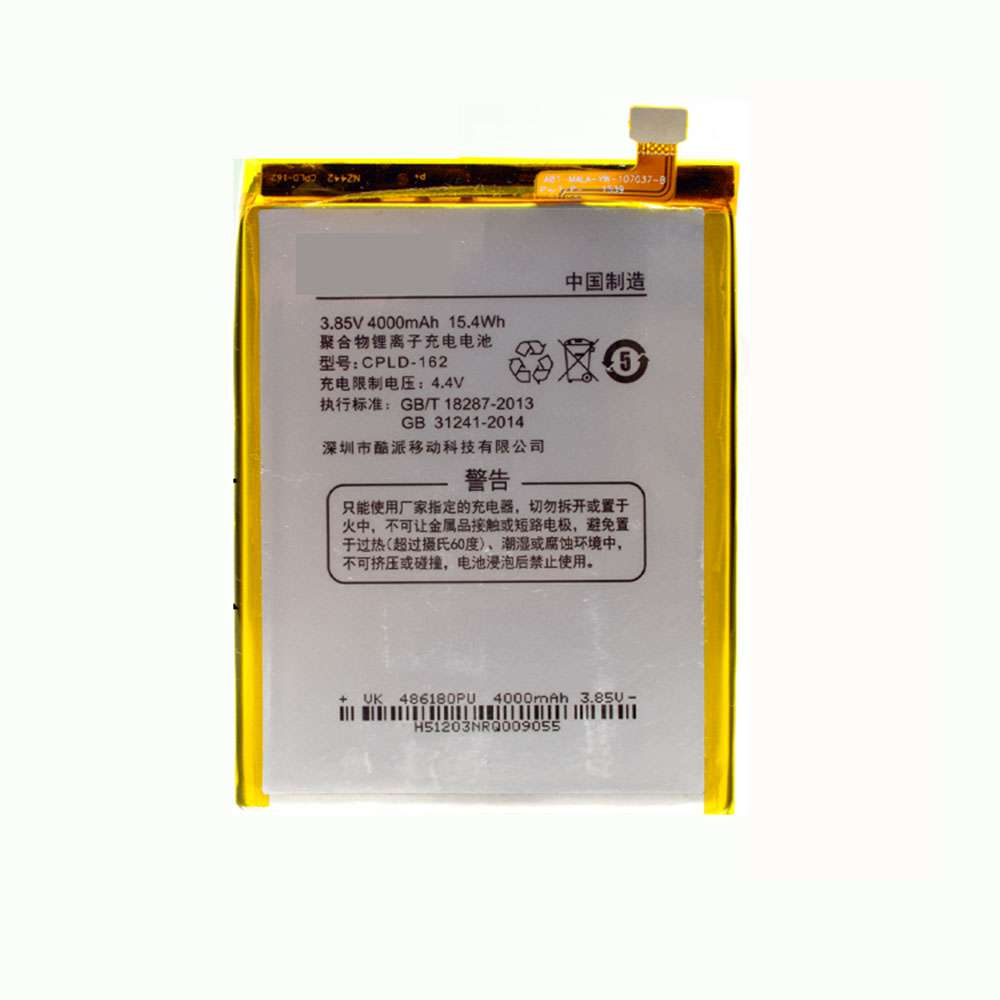 Replacement for Coolpad CPLD-162 battery