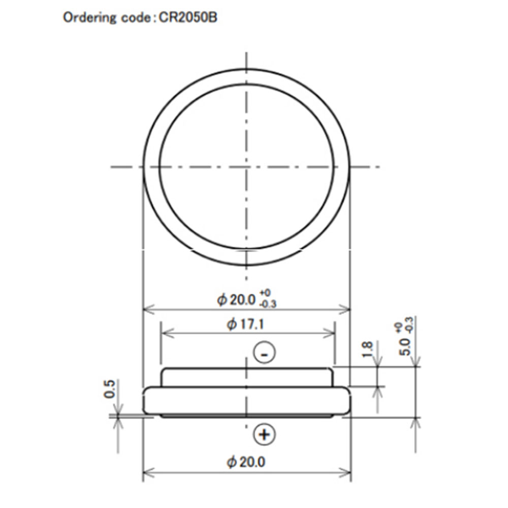 CR2050B