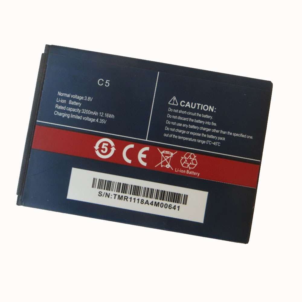 Replacement for CUBOT C5 battery