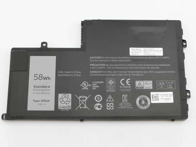 Dell 0PD19 1V2F6  Laptop Akku