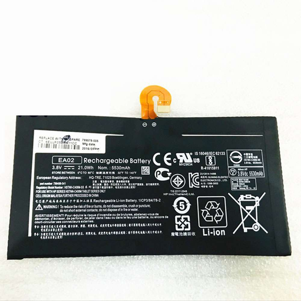 HP EA02 battery