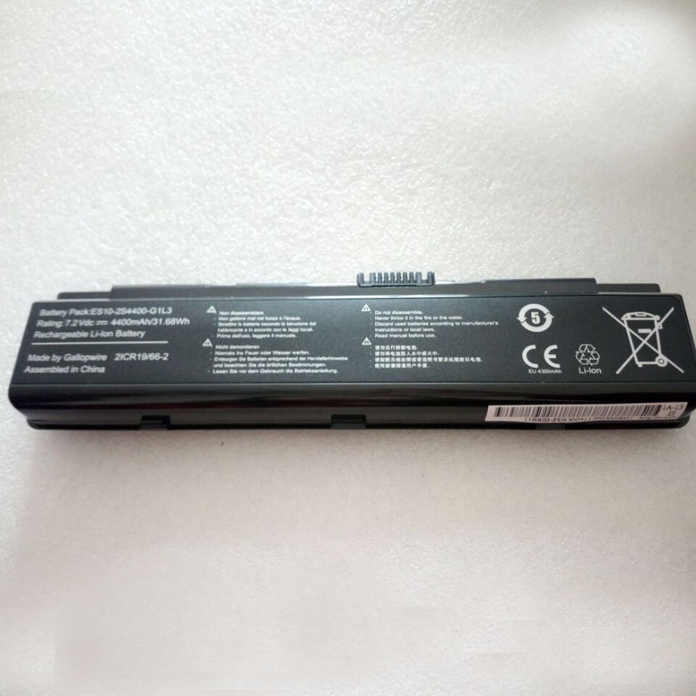 Replacement for Hasee ES10-3S4400-G1B1 battery