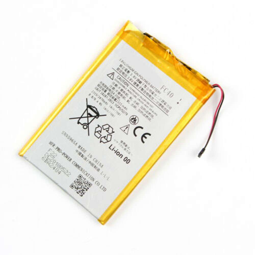 Replacement for Motorola FC40 battery