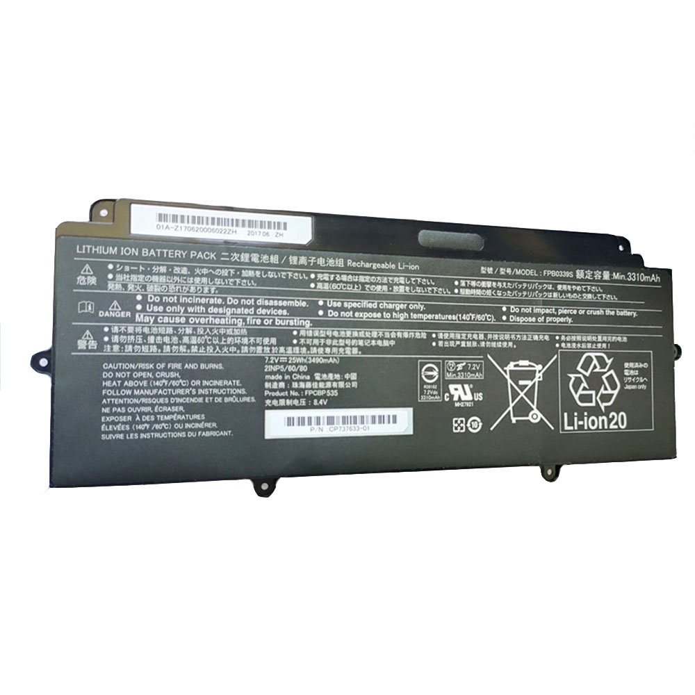 Replacement for Fujitsu FPB0339S battery