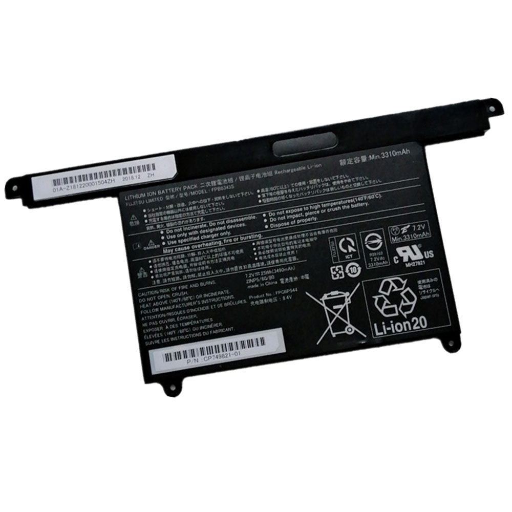 Fujitsu FPB0343S replacement battery
