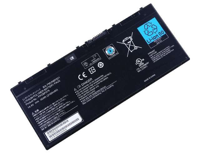 Replacement for Fujitsu FPCBP374 FMVNBP221 battery
