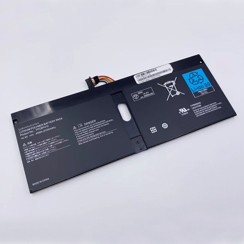 Replacement for Fujitsu FPCBP412 battery